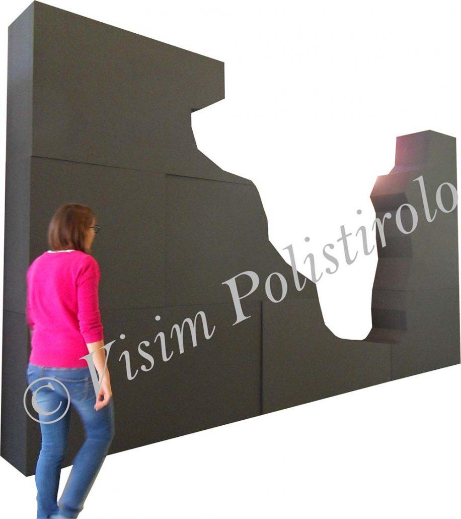 allestimento5 polistirolo sagoma allestimento parete interni