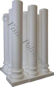 colonne polistirolo sagoma decorazioni allestimenti scenografie