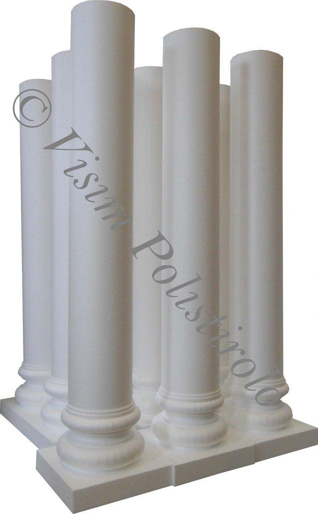 colonne polistirolo visim 3d