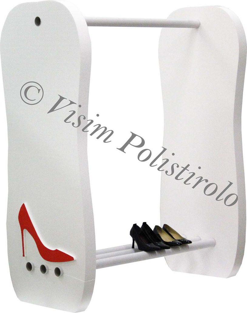 espositorescarpe   polistirolo sagoma decorazioni allestimenti scenografie negozi