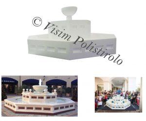 fontane knameps polistirolo sagoma decorazioni allestimenti scenografie
