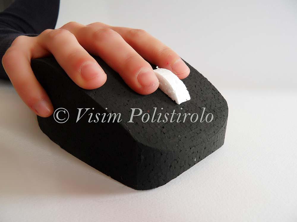 mouse polistirolo 3d
