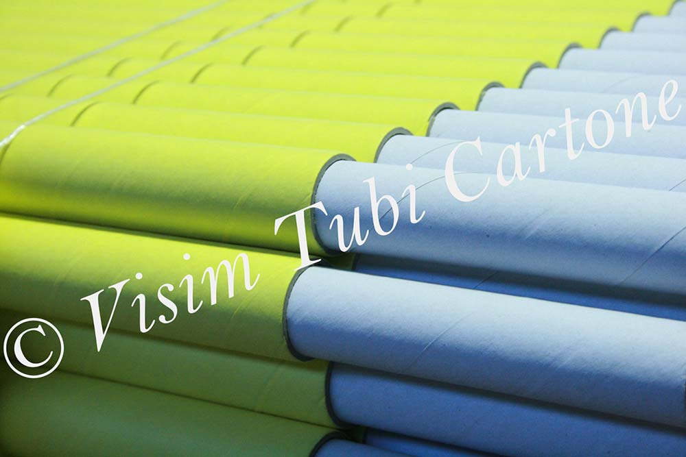 Tubi in cartone di varie dimensioni per imballo o for Tubi cartone