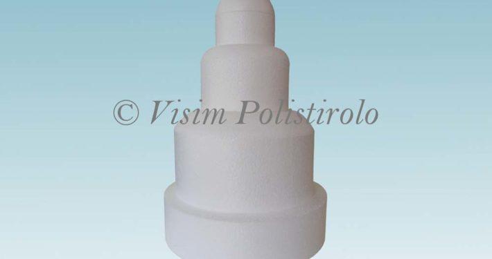 base polistirolo cake dummy mania