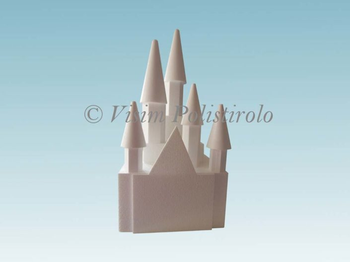 castello cake design polistirolo