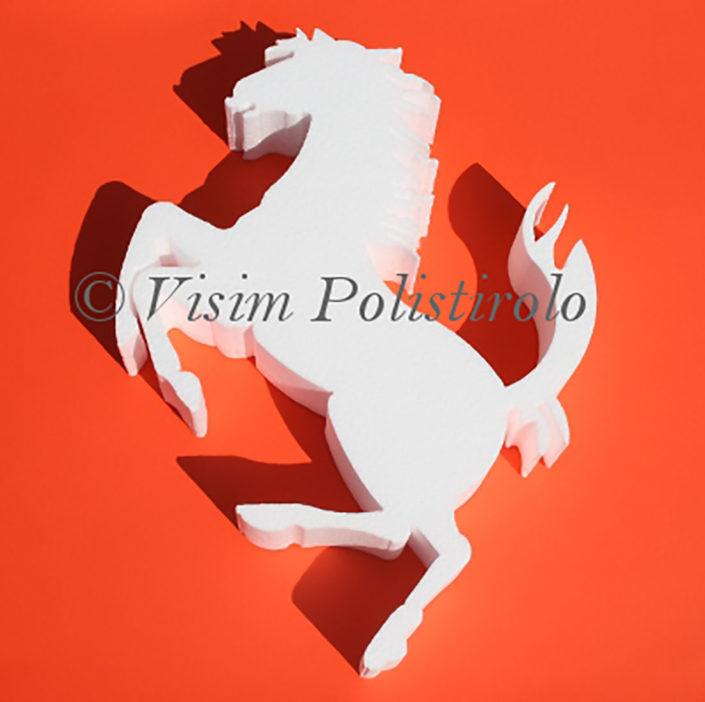 cavallino polistirolo visim