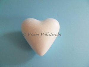 cuore 3d cake dummy polistirolo