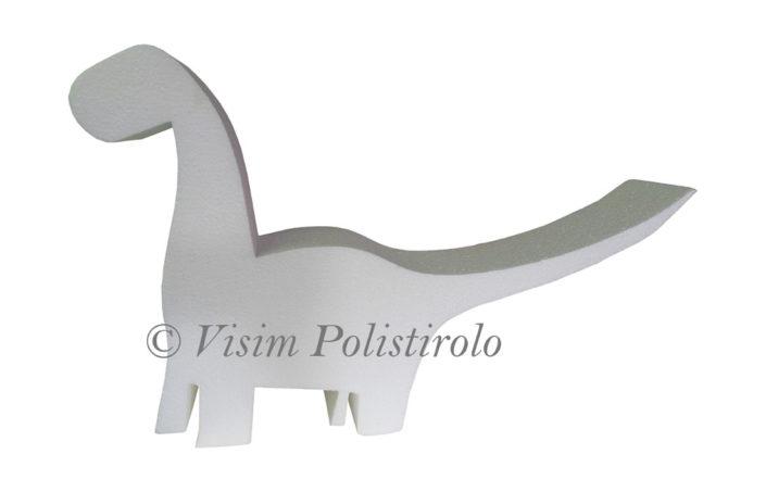 dinosauro polistirolo scuola visim