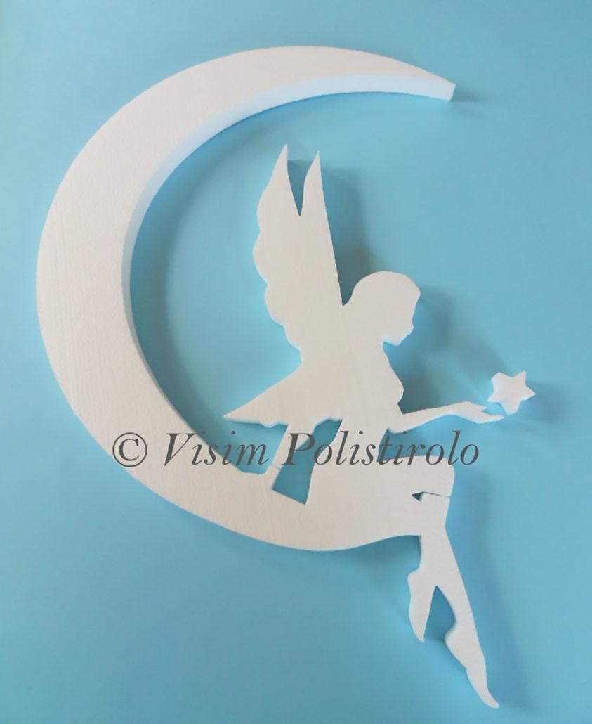fairy fata decorazione polistirolo