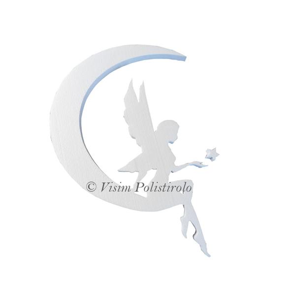 fata fairy decorazione polistirolo