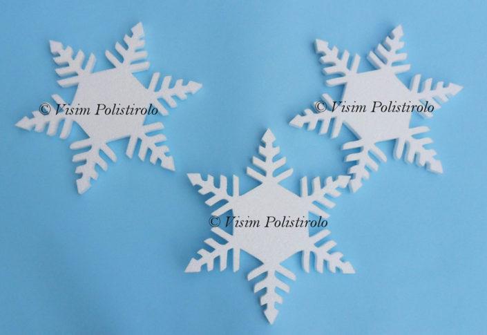 fiocchi di neve polistirolo