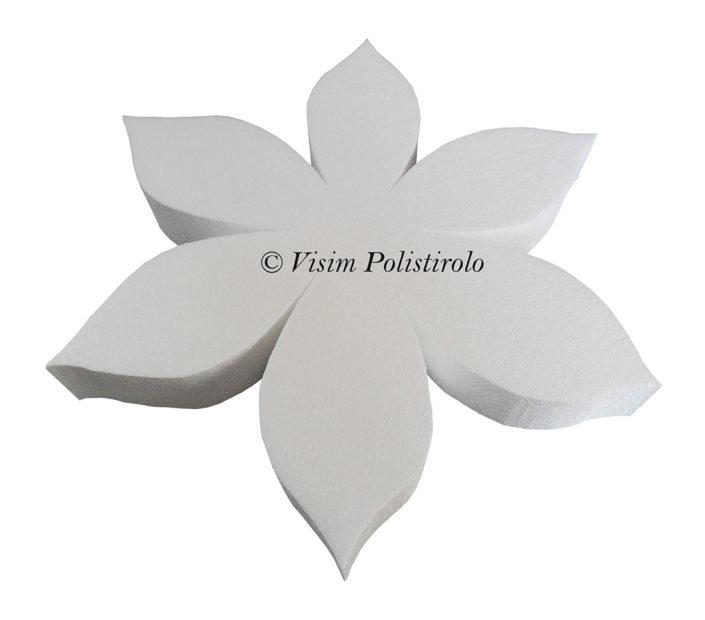fiore polistirolo visim sagoma