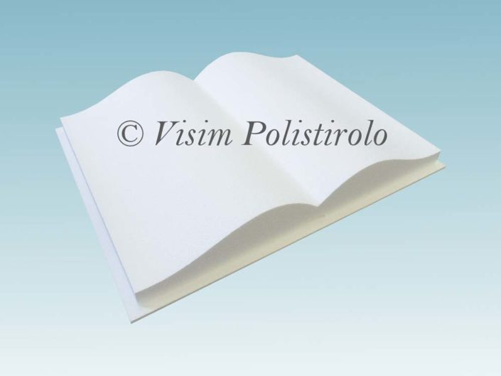 libro polistirolo torta cake design