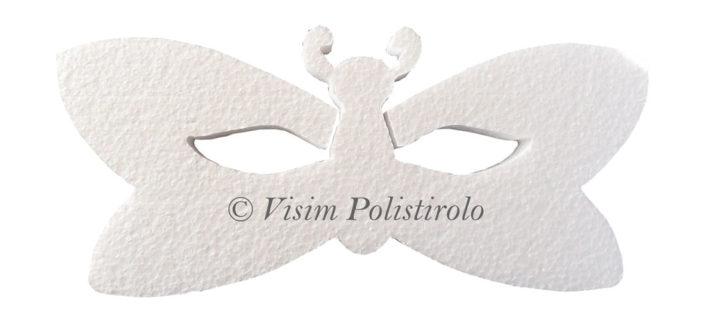 maschera polistirolo carnevale