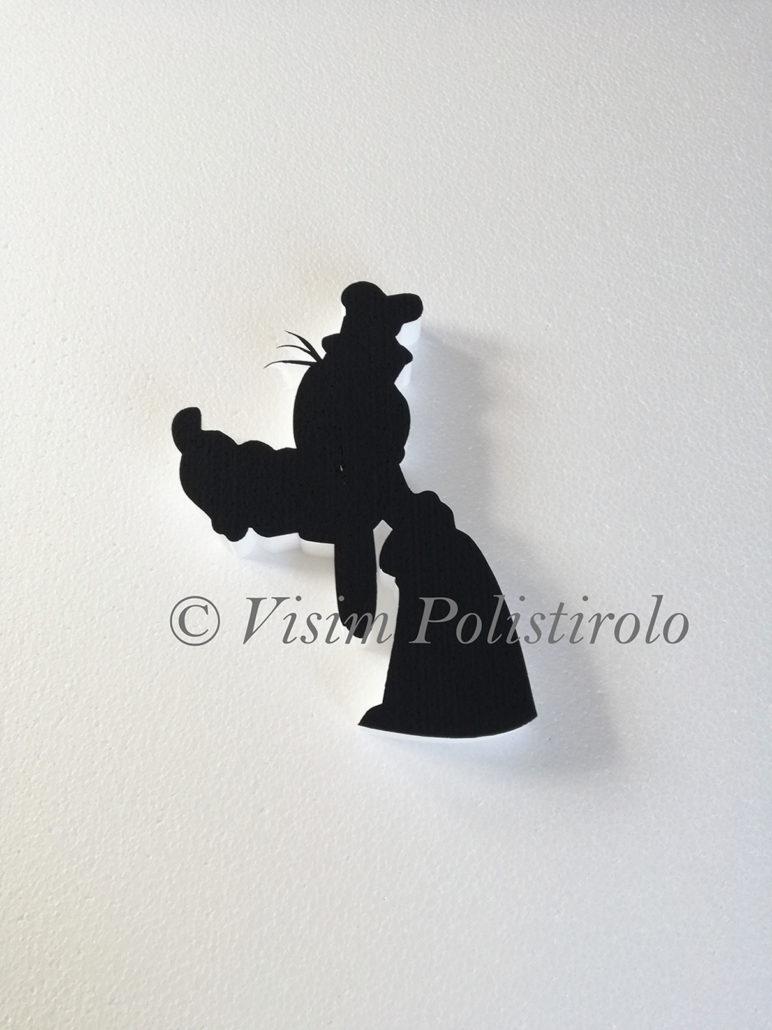 pippo murale decorazione polistirolo