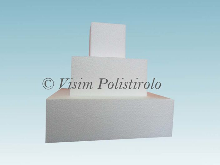 polistirolo cake dummy quadrato