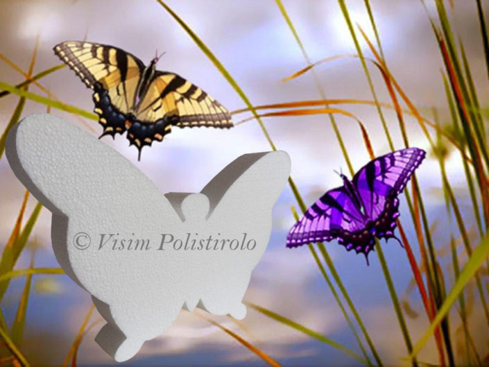 polistirolo farfalla visim
