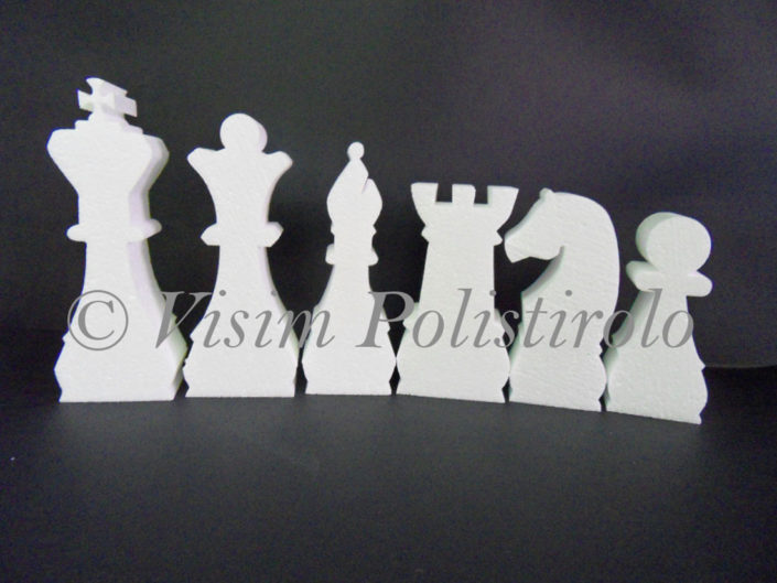 sagoma polistirolo scacchi eps1