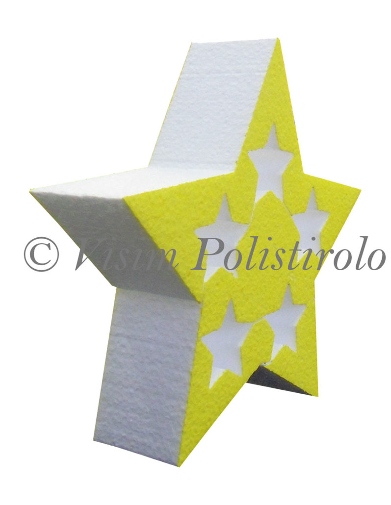 stella sagoma polistirolo visim