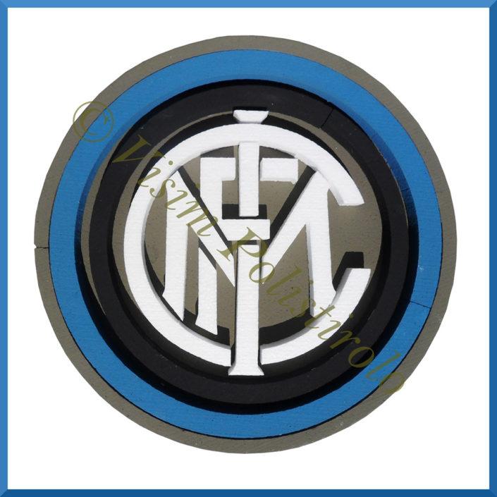inter logo polistirolo