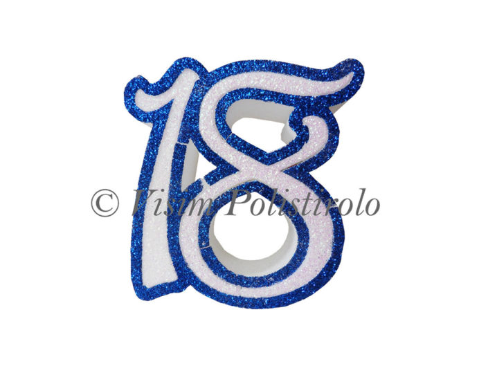 numero 18 polistirolo visim
